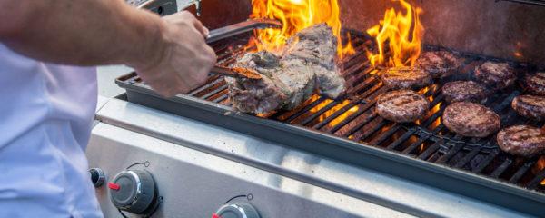 Barbecue à gaz