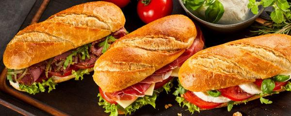 commande sandwich